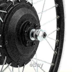 20/26 / 700c 250with350w Vélo Électrique Kit De Conversion E-bike Avant Roue Arrière