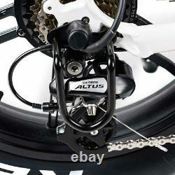 20 750w Vélo Électrique Moped Bike Addmotor M-60 R7 Cruiser Fat Tire Ebike LCD