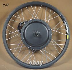24 Mountain Bike Modified Kit 48v 500w Roue Avant E-bike Kit De Conversion