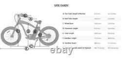 26 1000w 48v Fat Bik Tire Mountain Beach Vélo Électrique Vélo Ebike E-bike LCD