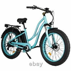 26 750w 48v Maxfoot Mf-17 P Vélo Électrique Step-thru Cruiser Commuter E-bike