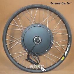 26 Pouces Vtt Modifié 48v-60v 500w E-bike Conversion Kit Aux États-unis