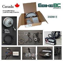 350w Vélo Électrique E Conversion Vélo Kit Avant Moyeu Moteur Jante Batterie Li-ion
