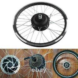 36 / 48v Bricolage Vélo Électrique Avant / Arrière Moteur Roue E-bike Conversion De Modification