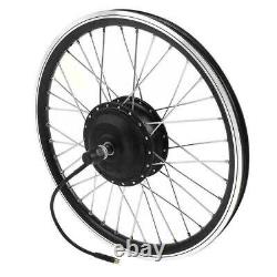 36 / 48v Moteur De Moyeu De Roue De Bicyclette Électrique Affichage E-bike Conversion Kit Diy Refit