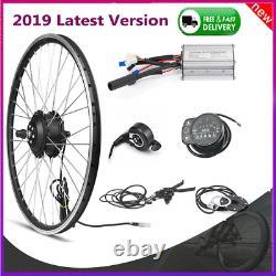 36 / 48v Vélo Électrique Hub Moteur Led Roue Du Moteur D'affichage E-bike Kit De Conversion