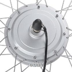36v 750w 20 Roue Avant Vélo Électrique Ebike Motor Conversion Kit Fat Tire