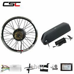36v Ebike Conversion Kit Electric Bike Battery Cycling Motor Wheel Sw900 Affichage