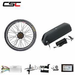 36v Vélo Électrique Kit De Conversion Ebike Batterie Vélo Moteur Roue Sw900 Affichage