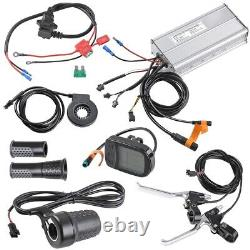 48v 1000w 26 Rear Wheel Electric Bicycle LCD Display Kit Moteur Ebike Conversion