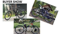 48v 1500w E Vélo Kit Pour La Conversion De La Roue Avant Ou Arrière De Vélo De Frein À Disque / V