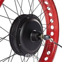 48v Anti-charge Fonction Fat Pneu E Kit De Conversion De Vélo 1500w Avec Pneu Large