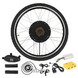 48v1500w Kit De Conversion De Moteur De Vélo Électrique Avant Ebike Wheel Cycling Hub 26