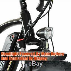 750w 20 Fat Tire Addmotor M-60 R7 Vélo Électrique Cruiser Vélo Ebike Blanc