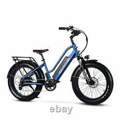 750w 24 Fat Tire Electric Bike City Vélo Addmoteur M-430 48v Li-batterie Ebike