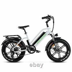 750w 28mph Vélo Électrique 20 16ah Addmoteur M-50 City Étape À Travers Ebike