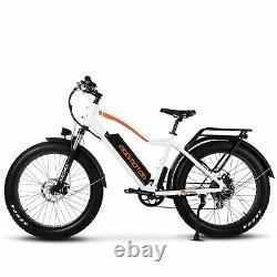 750w 48v/16ah Batterie Vélo Électrique 26 Mph Addmoteur M-550 P7 Fat Tire Ebike