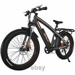 750w Vélo Électrique 26 Fat Tire 48v Addmoteur M-560 Mtb Commuter E-bike