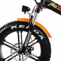 750w Vélo Électrique Pliage Vélo Addmotor M-150 R7 Suspension Fat Tire E-bike