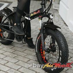 750w Vélo Électrique Vélo Addmotor Motan 16ah Fat Tire Pliage E-bike M150 P7