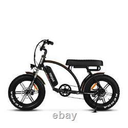 750w Vélo Électrique Vélo Cyclomoteur Addmotor M-60 R7 Cruiser 20 48v Fat Tire Ebike