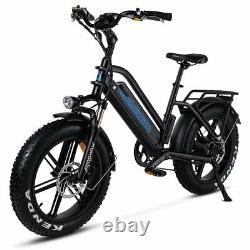 Addmotor 20 Vélo Électrique M-50 750w Fat Tire E-bike Moped Bike Pedal Assist