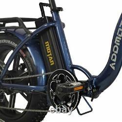 Addmotor M-140 R7 Vélo Électrique Vélo Pliant 750w 20fat Pneus Step-thru Ebike