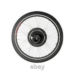 Avant / Arrière 48v 1000w 26 Electric Bicycle Wheel Ebike Hub Motor Conversion Kit