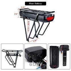 Bafang 48v 500w Kits De Conversion E-bike Avant Sans Brushless Hub Motor 17.5ah Batterie