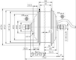 Bafang /8fun Swxk5 36v 250w Kit De Conversion E-bike Front Hub Motor 20 26