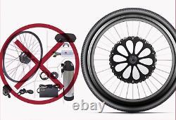 Batterie De Roue Avant 29 À L'intérieur Des Kits Électriques De Conversion D'e-bike De Moteur De Bicyclette