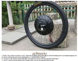 Batterie De Vélo Électrique 36v 3200mah Roue Avant Pour E-bike 36v 240w Kit De Conversion