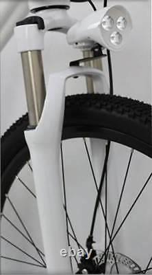 Batterie Intégrée, Moteur Central E-bike. Roue De 26 Pouces