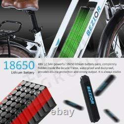 Bezior M2 Femmes 36v 250w E-bike Vélo Électrique Femmes City Vélo 26 Roues