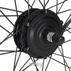 Bike Motor Wheel 36v 350w Kit De Conversion De Vélo 20 24 26 27,5 28 29in 700c