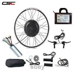 Brushless Gearless Hub Motor 1000w Wheel Drive Ebike Kit De Vélo Électrique 48volt