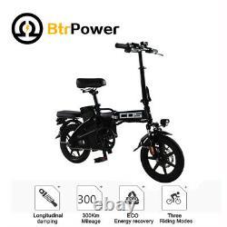 Btrpower 14 350w Moteur Pliant Ville Vélo Électrique 48v 14ah Lithium-ion