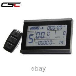 Csc Ebike Kit De Conversion De Vélo Électrique 1500w 48v Kit Régénération Écran LCD