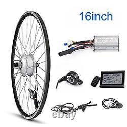 E Bike Conversion Kit 24v 250w Avant Moteur Roue 24 20 16 Pouces Cablage