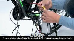 E Bike Motor 48v 250 1500w Moteur Sans Engrenages Hub Tranquille Avant Conversion Des Roues Arrière