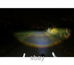 E-bike Elektrofahrrad Cateye Lampe Frontale À Led Scheinwerfer Ge100 100+lux
