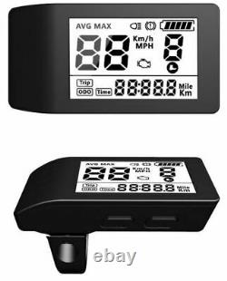 E-bike Umbausatz Bafang Motor 36v 250watt G. 010. D Mit LCD 500s Avant Vorderrad