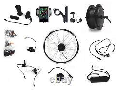 E-bike Umbausatz Bafang Motor 36v 250watt G. 010. D Mit Tft C850 Vorderrad Avant