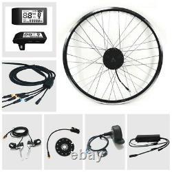 E-bike Umbausatz Bafang Motor 36v 350watt G. 020. D Mit LCD 500s Avant Vorderrad
