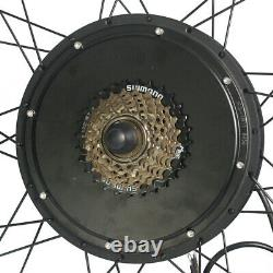 Ebike Conversion Kit Hub Motor Wheel 48v 1000w Lcd8 Pour 20 29 Vélo Électrique