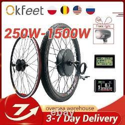 Ebike Kit De Conversion 48v 1500w 1000w 750w 36v 500w E-bike Arrière Avant E Bike Whee