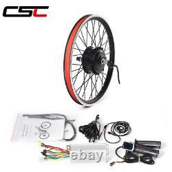 Ebike Motor Wheel Conversion Kit 36v 250w Pour Vélo Électrique 20-29in 700c