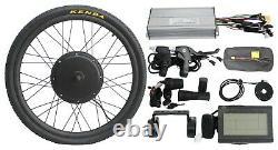 Ebike Vélo Électrique 36v 1200w 48v 1500w Kit De Conversion De Roue Avant 20-29er
