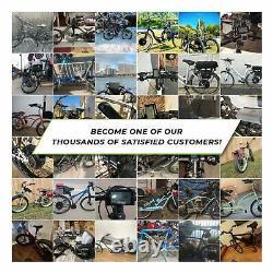 Ebikeling Imperméable 36v 500w 26 Kit De Conversion De Vélo E-bike Avant En Vitesse
