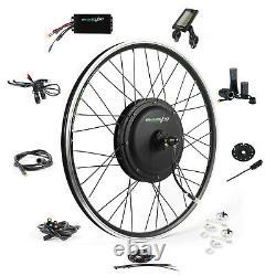 Ebikeling Imperméable 48v 1200w 26 Kit De Conversion E-bike Avant D'entraînement Direct